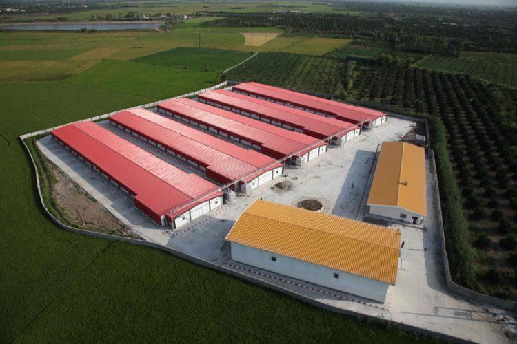 ساندویچ پانل سقفی شرکت کیان پانل