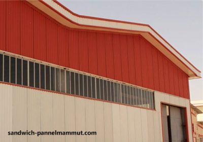 پوشش سوله با ساندویچ پانل