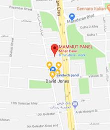 آدرس شرکت ماموت