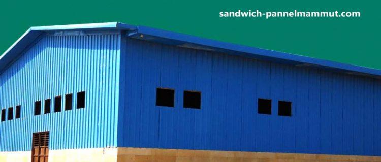 کاربرد ساندویچ پانل در ساخت سردخانه