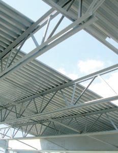سقف عرشه فولاد
