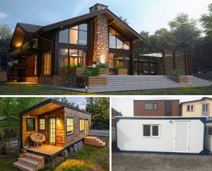 تفاوت خانه های پیش ساخته و کانکس
