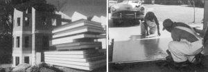 تاریخچه ساخت ساندویچ پانل